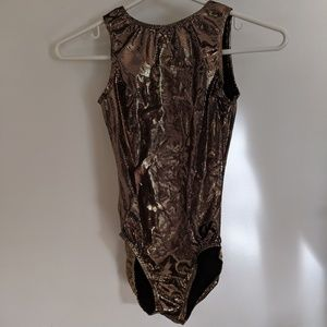 Gold GK Leotard